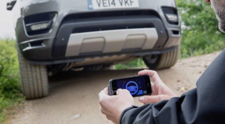Drive like Bond, James Bond: Express tests the Land Rover smartphone car remote control