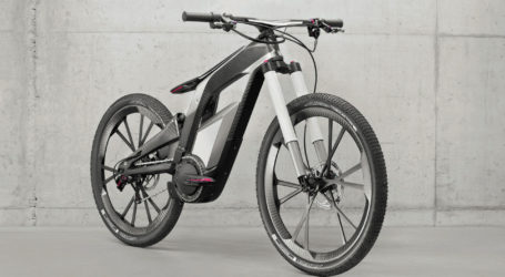 Audi's 50 mph e-bike pops wheelies, boasts WiFi