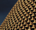 Beautiful pictures as thousands of Thai monks put on incredible visual display for sacred full moon festival