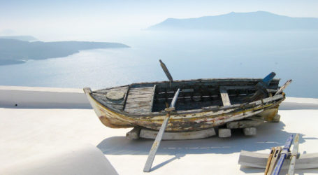 Santorini, iconic of Greek islands