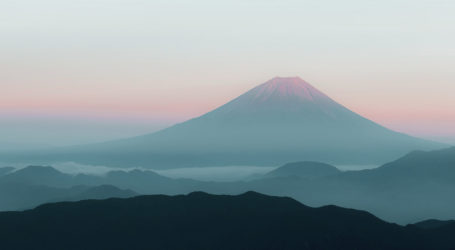 Snow Climbing Mount Fuji