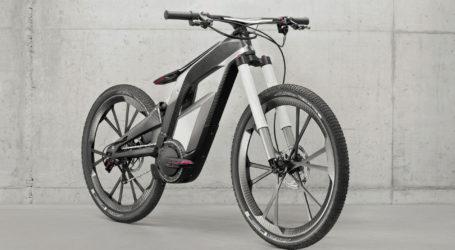 Audi's 50 mph e-bike pops wheelies, boasts WiFi